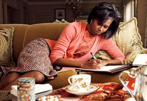 Michelle vogue 2009