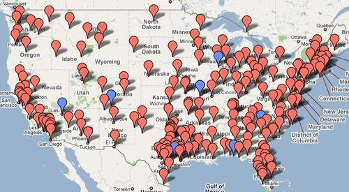 Tea party map